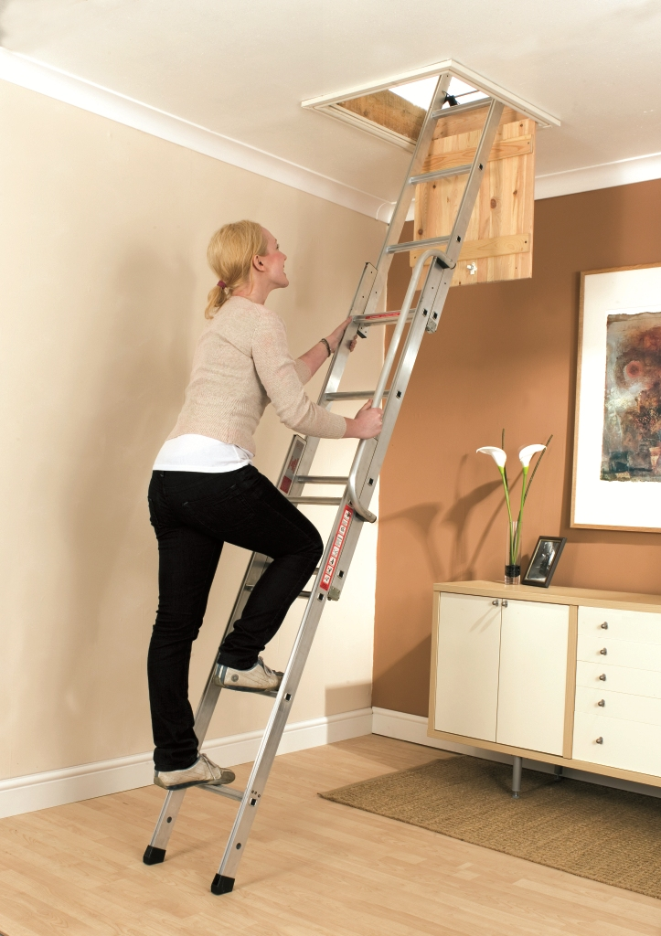 Youngman Easiway Easyway Loft Ladder 3 Section